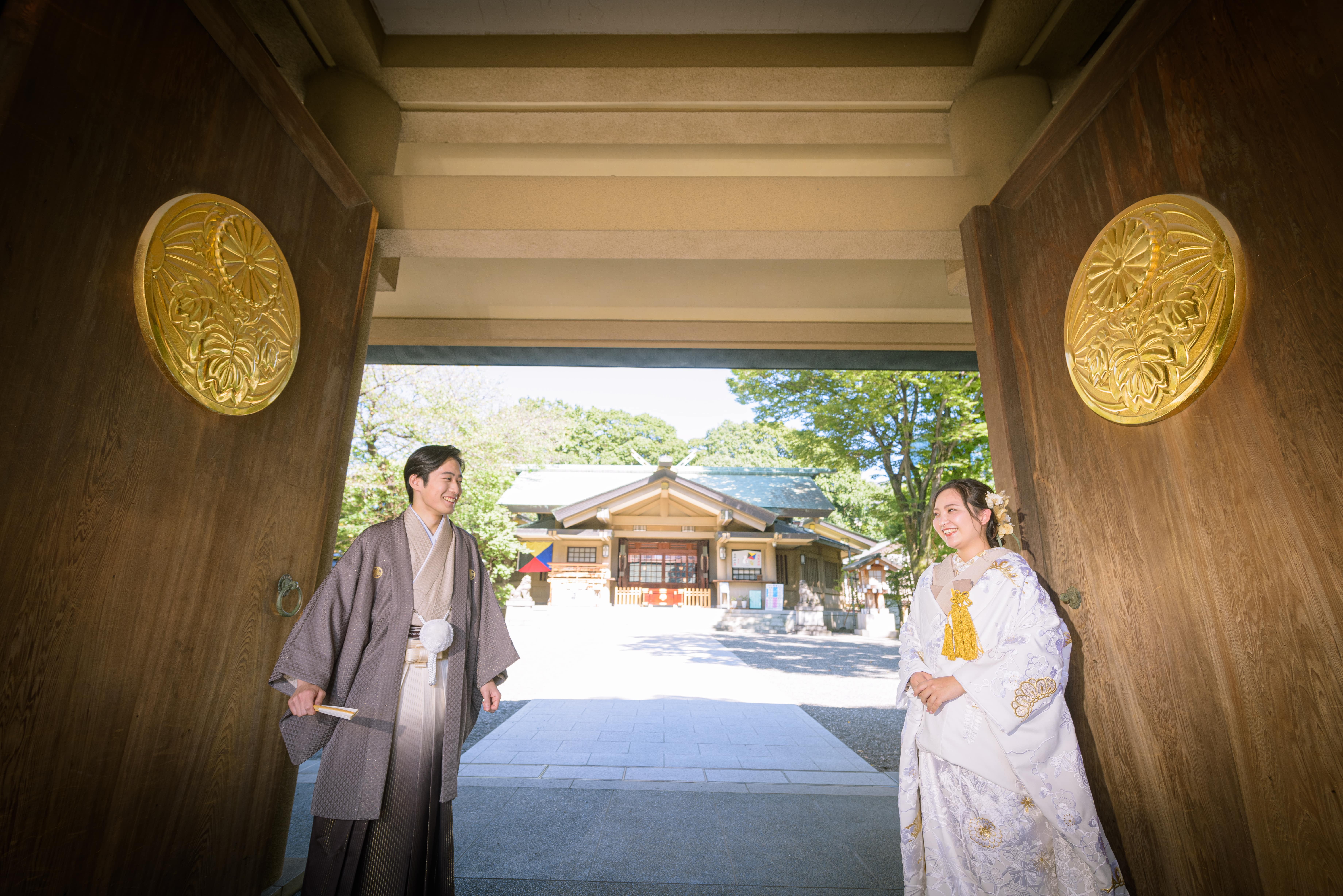 東郷神社でのフォトウェディング